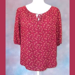 Mossimo Flowy Lightweight Top Size XL